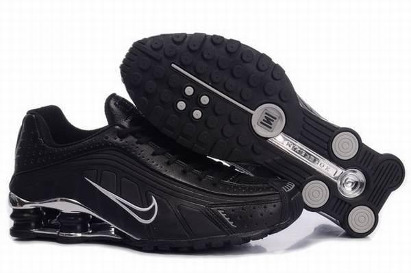 Nike Shox Nz Cuir Noir