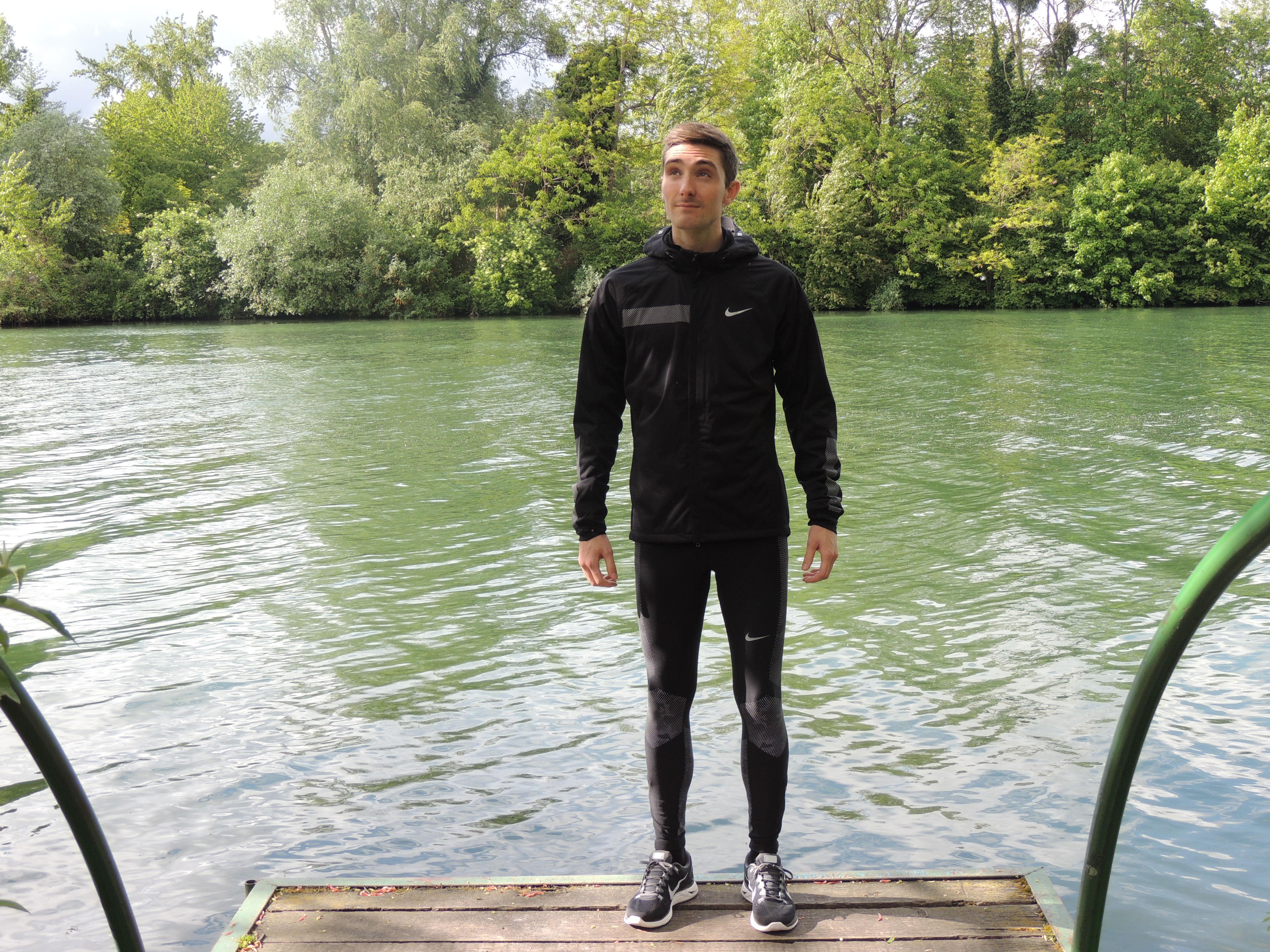 photos officielles 2cadd c81fc vetement homme running hiver