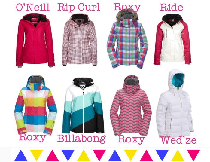 Manteau de ski femme picture